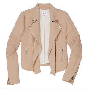 Aritzia | Wilfred Jacket - Moto Jacket / Blazer